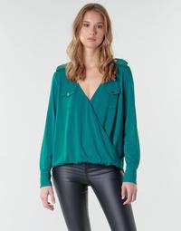 Îmbracaminte Femei Topuri și Bluze Marciano SALLY CREPE TOP Verde