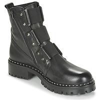 Pantofi Femei Ghete Philippe Morvan HARMY V1 ROMA NOIR Negru