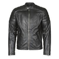Îmbracaminte Bărbați Jachete din piele și material sintetic Schott LC FUEL Negru