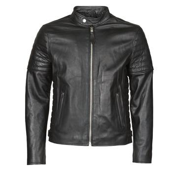 Îmbracaminte Bărbați Jachete din piele și material sintetic Schott LCJOE Negru