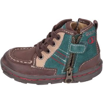 Pantofi Băieți Sneakers Geox Adidași BM400 Maro