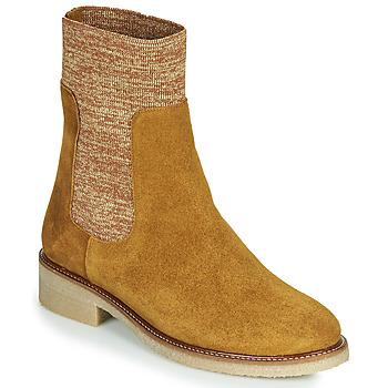 Pantofi Femei Ghete Bensimon BOOTS CHAUSSETTE Maro