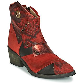 Pantofi Femei Botine Casta DEMA Roșu