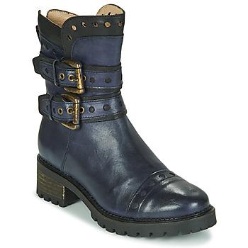 Pantofi Femei Botine Casta MERITA Albastru / Negru