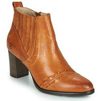 Pantofi Femei Botine Casta SANTA Coniac