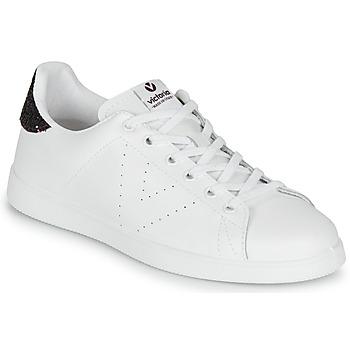 Pantofi Femei Pantofi sport Casual Victoria TENIS PIEL Alb / Bordo