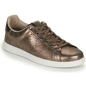 Pantofi Femei Pantofi sport Casual Victoria TENIS METALIZADO Auriu