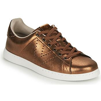 Pantofi Femei Pantofi sport Casual Victoria TENIS METALIZADO Bronz