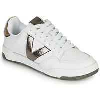 Pantofi Femei Pantofi sport Casual Victoria CRONO PIEL Alb / Bronz