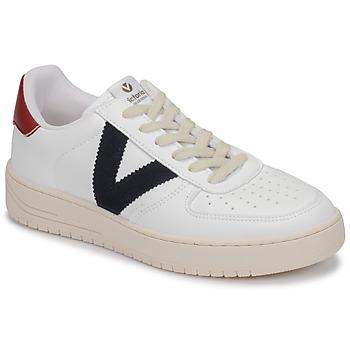 Pantofi Pantofi sport Casual Victoria SIEMPRE PIEL VEG Alb / Albastru / Roșu