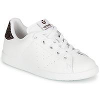 Pantofi Fete Pantofi sport Casual Victoria TENIS PIEL Alb / Bordo