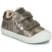 Pantofi Fete Pantofi sport Casual Victoria HUELLAS  TIRAS Gri