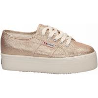Pantofi Femei Pantofi sport Casual Superga 2790-LAMEW 941-rose-platinum
