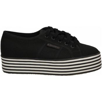 Pantofi Femei Pantofi sport Casual Superga 2790-MULTICOLOR COTW a1a-black-black-white-st