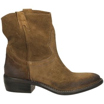 Pantofi Femei Ghete Ton Gout VELOUR bosco-bosco