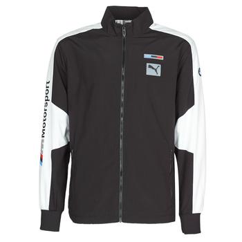 Îmbracaminte Bărbați Bluze îmbrăcăminte sport  Puma BMW MMS WVN JACKET F Negru / Gri / Alb