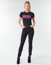 Îmbracaminte Femei Pantalon 5 buzunare Diesel P-CUPERY Negru9xx