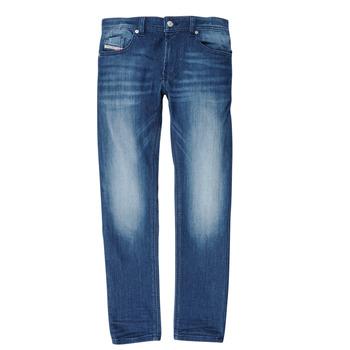 Îmbracaminte Băieți Jeans slim Diesel THOMMER Albastru