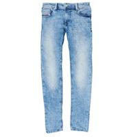 Îmbracaminte Băieți Jeans skinny Diesel SLEENKER Albastru