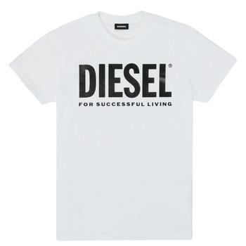 Îmbracaminte Copii Tricouri mânecă scurtă Diesel TJUSTLOGO Alb