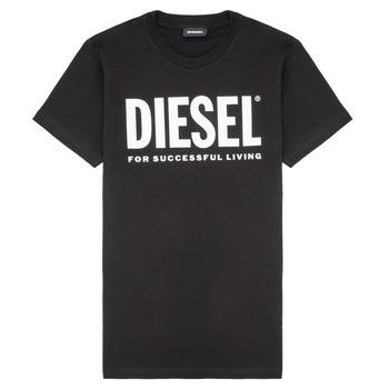 Îmbracaminte Copii Tricouri mânecă scurtă Diesel TJUSTLOGO Negru