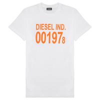 Îmbracaminte Copii Tricouri mânecă scurtă Diesel TDIEGO1978 Alb