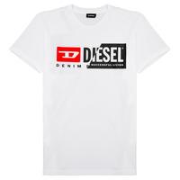Îmbracaminte Copii Tricouri mânecă scurtă Diesel TDIEGOCUTY Alb