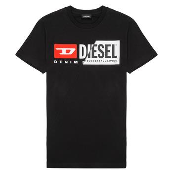 Îmbracaminte Copii Tricouri mânecă scurtă Diesel TDIEGOCUTY Negru