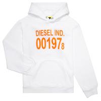 Îmbracaminte Copii Hanorace  Diesel SGIRKHOOD Alb