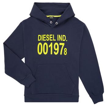 Îmbracaminte Copii Hanorace  Diesel SGIRKHOOD Albastru