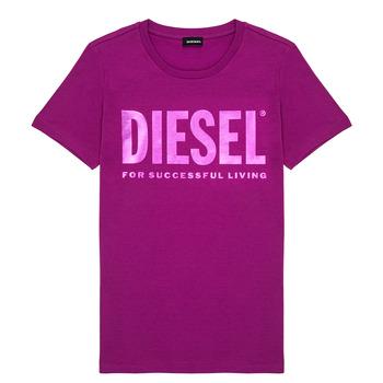 Îmbracaminte Fete Tricouri mânecă scurtă Diesel TSILYWX Roz