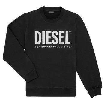 Îmbracaminte Fete Hanorace  Diesel SANGWX Negru