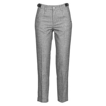 Îmbracaminte Femei Pantalon 5 buzunare Freeman T.Porter SHELBY MOKKA Gri / LuminoasĂ