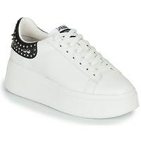 Pantofi Femei Pantofi sport Casual Ash MOBY STUDS White / Black