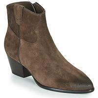 Pantofi Femei Botine Ash HOUSTON Brown