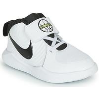 Pantofi Băieți Basket Nike TEAM HUSTLE D 9 TD Alb / Negru