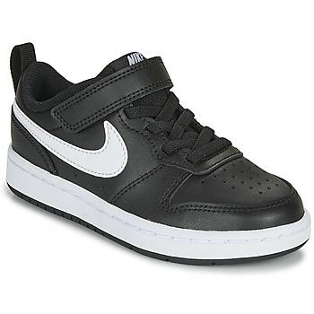 Pantofi Copii Pantofi sport Casual Nike COURT BOROUGH LOW 2 PS Negru / Alb