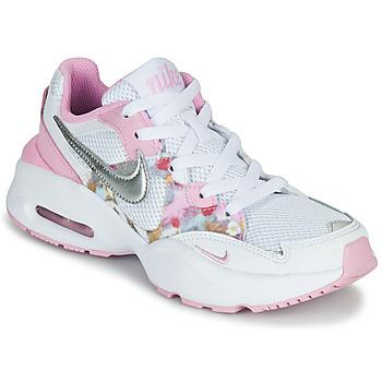 Pantofi Fete Pantofi sport Casual Nike AIR MAX FUSION SE GS Alb / Roz