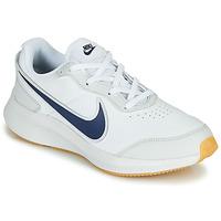 Pantofi Băieți Pantofi sport Casual Nike VARSITY LEATHER GS Alb / Albastru