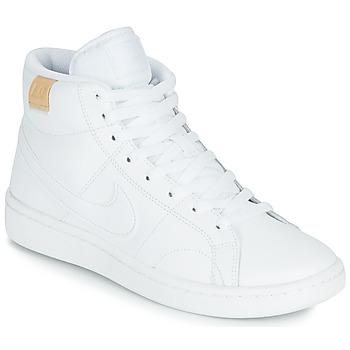 Pantofi Femei Pantofi sport Casual Nike COURT ROYALE 2 MID Alb