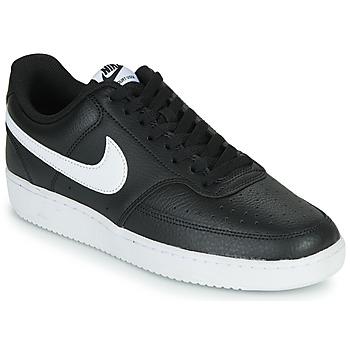 Pantofi Bărbați Pantofi sport Casual Nike COURT VISION LOW Negru / Alb