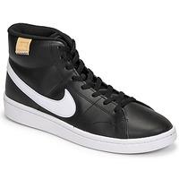 Pantofi Bărbați Pantofi sport Casual Nike COURT ROYALE 2 MID Negru / Alb