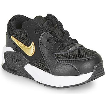 Pantofi Copii Pantofi sport Casual Nike AIR MAX EXCEE TD Negru / Auriu