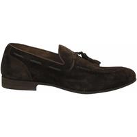 Pantofi Bărbați Mocasini Brecos CASHMIRE testa-di-moro