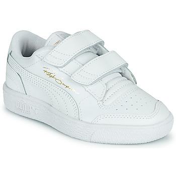 Pantofi Copii Pantofi sport Casual Puma RALPH SAMPSON LO PS Alb