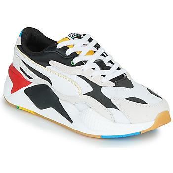 Pantofi Pantofi sport Casual Puma RS-X3 Unity Collection Alb / Negru / Roșu