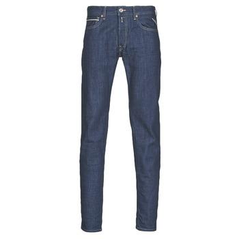 Îmbracaminte Bărbați Jeans drepti Replay GROVER Albastru / Culoare închisă