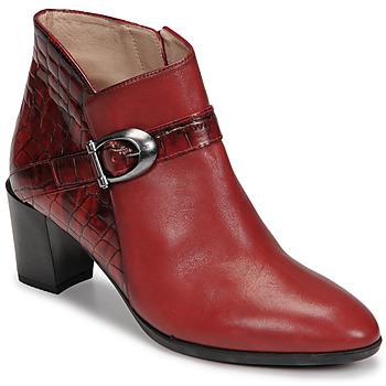 Pantofi Femei Botine Hispanitas PIRINEO Roșu