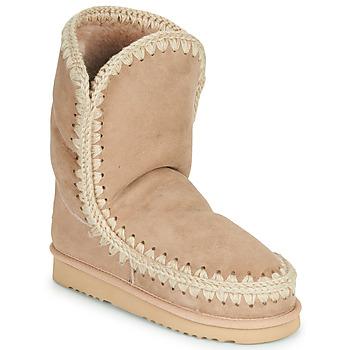 Pantofi Femei Ghete Mou ESKIMO 24 Bej