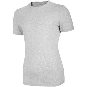 Îmbracaminte Femei Tricouri mânecă scurtă 4F TSM003 Gri